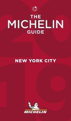 Michelin Gids New York City 2019 9782067230521  Michelin Rode Jaargidsen  Hotelgidsen, Restaurantgidsen New York, Pennsylvania, Washington DC