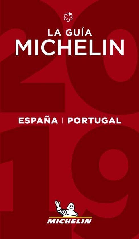 Michelin Gids Spanje (España) en Portugal 2019 9782067233034  Michelin Rode Jaargidsen  Hotelgidsen, Restaurantgidsen Spanje