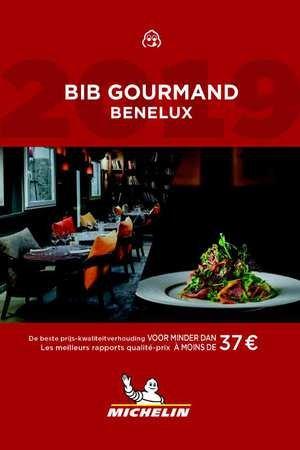Michelin Gids Bib Gourmand Benelux 2019 9782067235168  Michelin Rode Jaargidsen  Restaurantgidsen Benelux