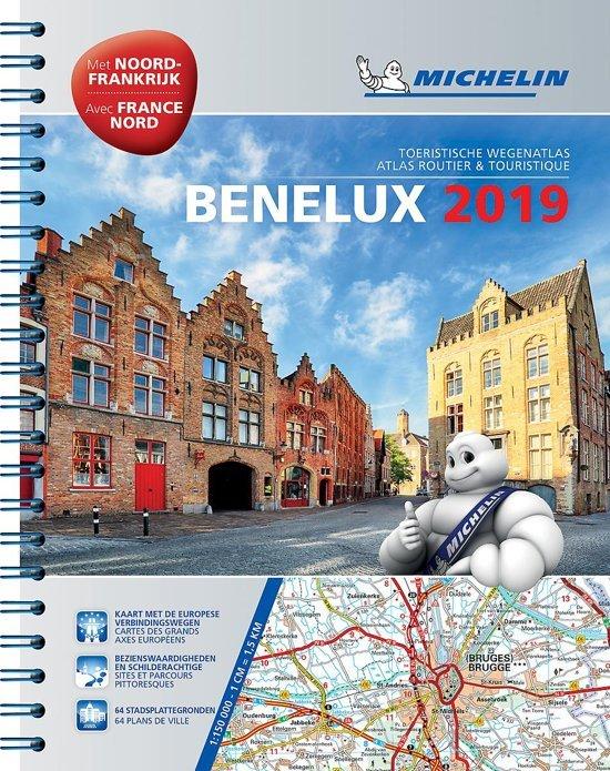 Benelux Wegenatlas 2019 9782067237025  Michelin Wegenatlassen  Wegenatlassen Benelux