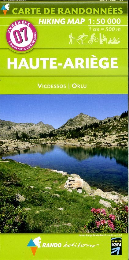 RP-07  Haute Ariège, Foix 1:50.000 9782344006276  Rando Editions Randonnées Pyrénéennes  Wandelkaarten Franse Pyreneeën, Toulouse, Gers, Garonne