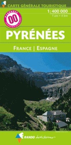 Pyreneeën 1:400.000 9782344013403  Randonnees Pyrénéennes   Landkaarten en wegenkaarten Pyreneeën en Baskenland