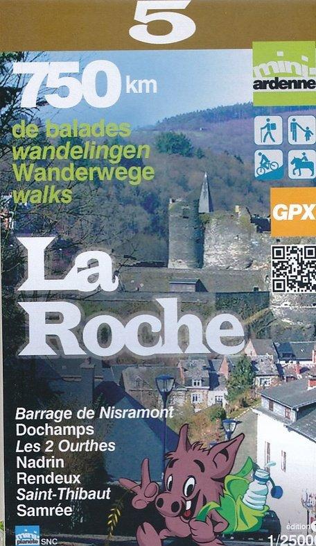 MA-05 Omgeving La Roche 1:25.000 9782390160045  Mini-Ardenne   Wandelkaarten Wallonië (Ardennen)