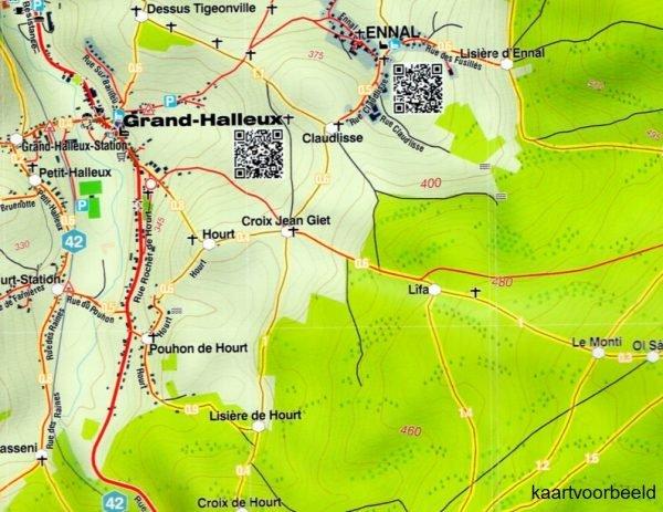 MA-07 Omgeving Malmédy 1:25.000 9782390160069  Mini-Ardenne   Wandelkaarten Wallonië (Ardennen)