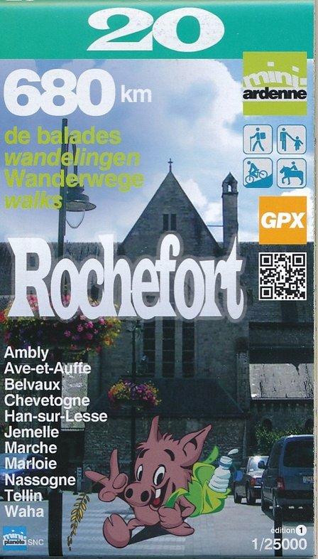 MA-20 Omgeving Rochefort 1:25.000 9782390160205  Mini-Ardenne   Wandelkaarten Wallonië (Ardennen)