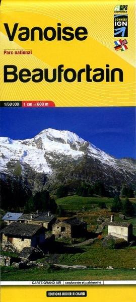 LB-04  Vanoise, Parc National | wandelkaart 1:60.000 9782723484961  Libris Éditions Didier Richard  Wandelkaarten Chartreuse, Bauges, Vanoise