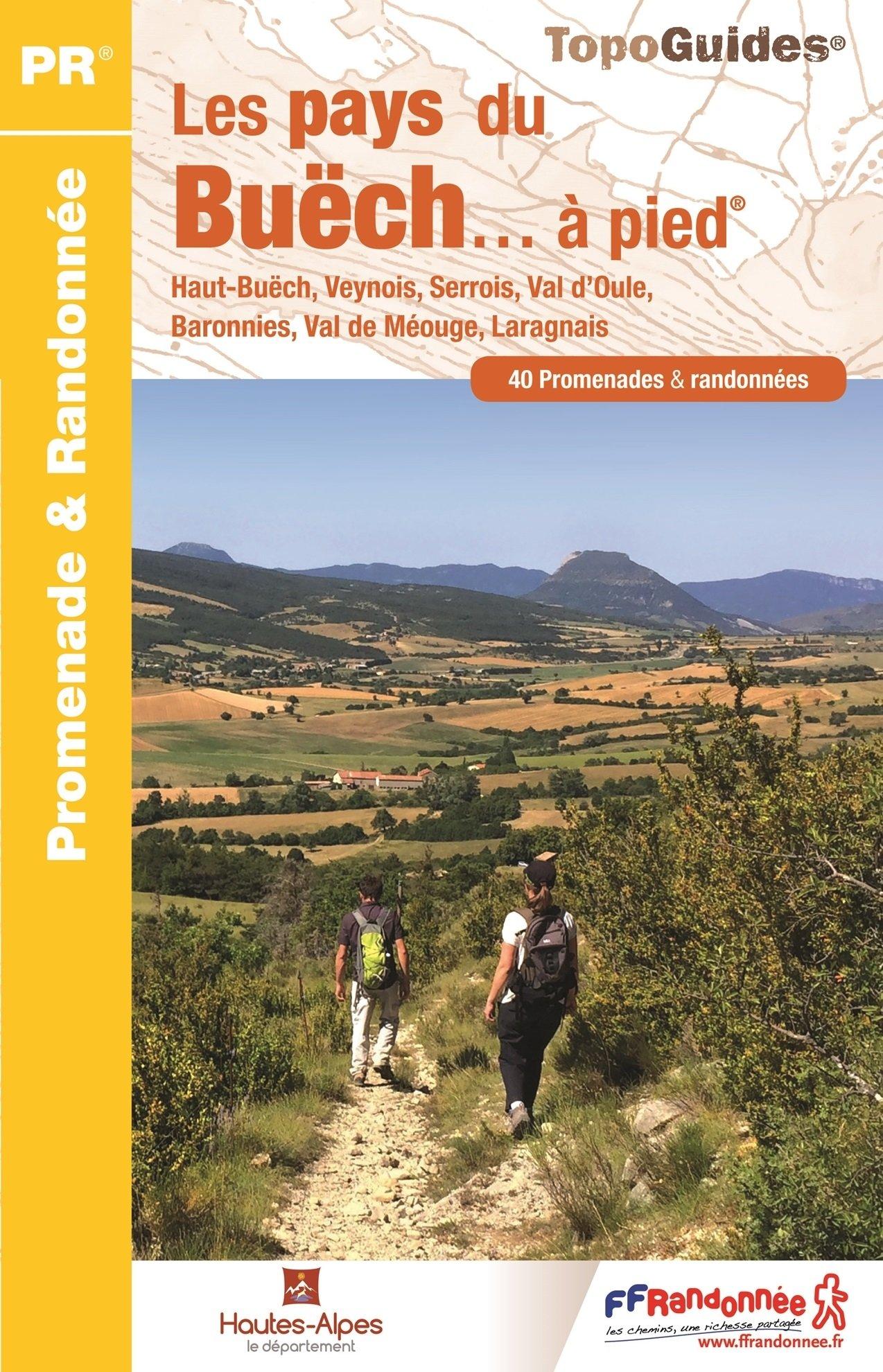 P053  Pays du Buëch... à pied | wandelgids 9782751407710  FFRP Topoguides  Wandelgidsen Franse Alpen: zuid