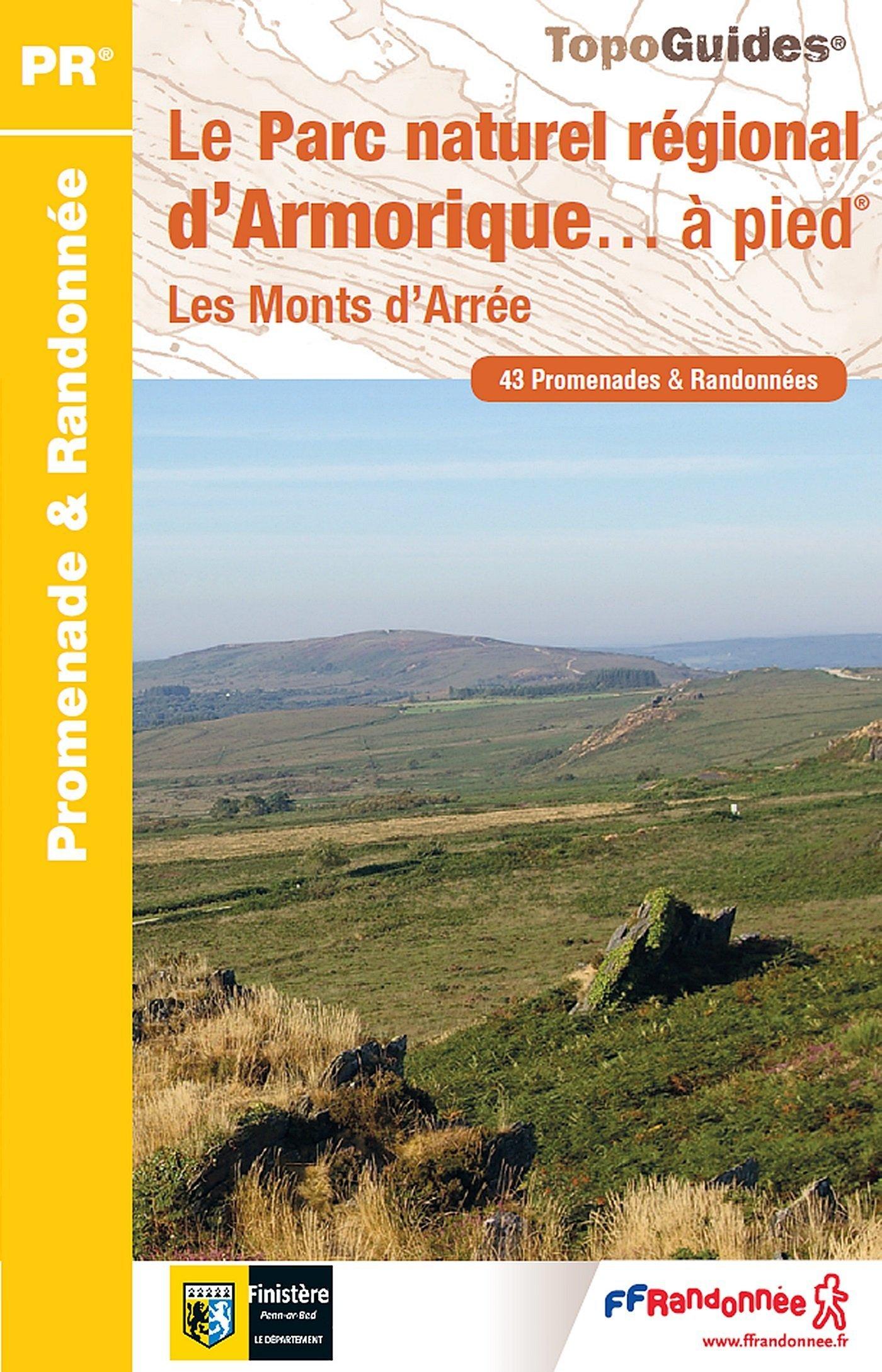 PN12 Le PNR d'Armorique à pied 9782751408250  FFRP Topoguides  Wandelgidsen Bretagne