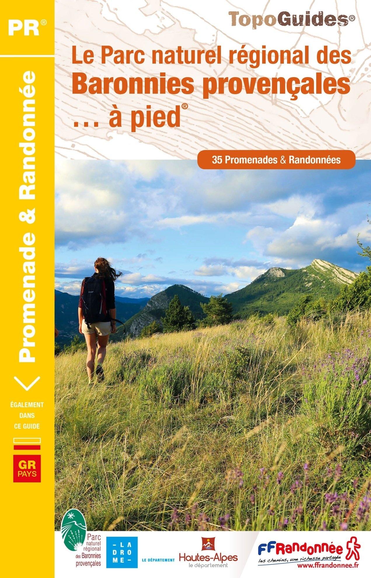 PN19 Baronnies Provençales | wandelgids 9782751408526  FFRP Topoguides  Wandelgidsen Provence, Vaucluse, Luberon