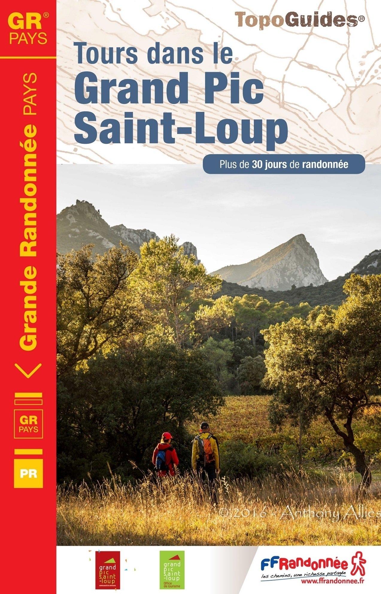 TG3401 Grand Pic Saint-Loup  | wandelgids GR3401 9782751408830  FFRP Topoguides  Meerdaagse wandelroutes, Wandelgidsen Languedoc, Hérault, Aude