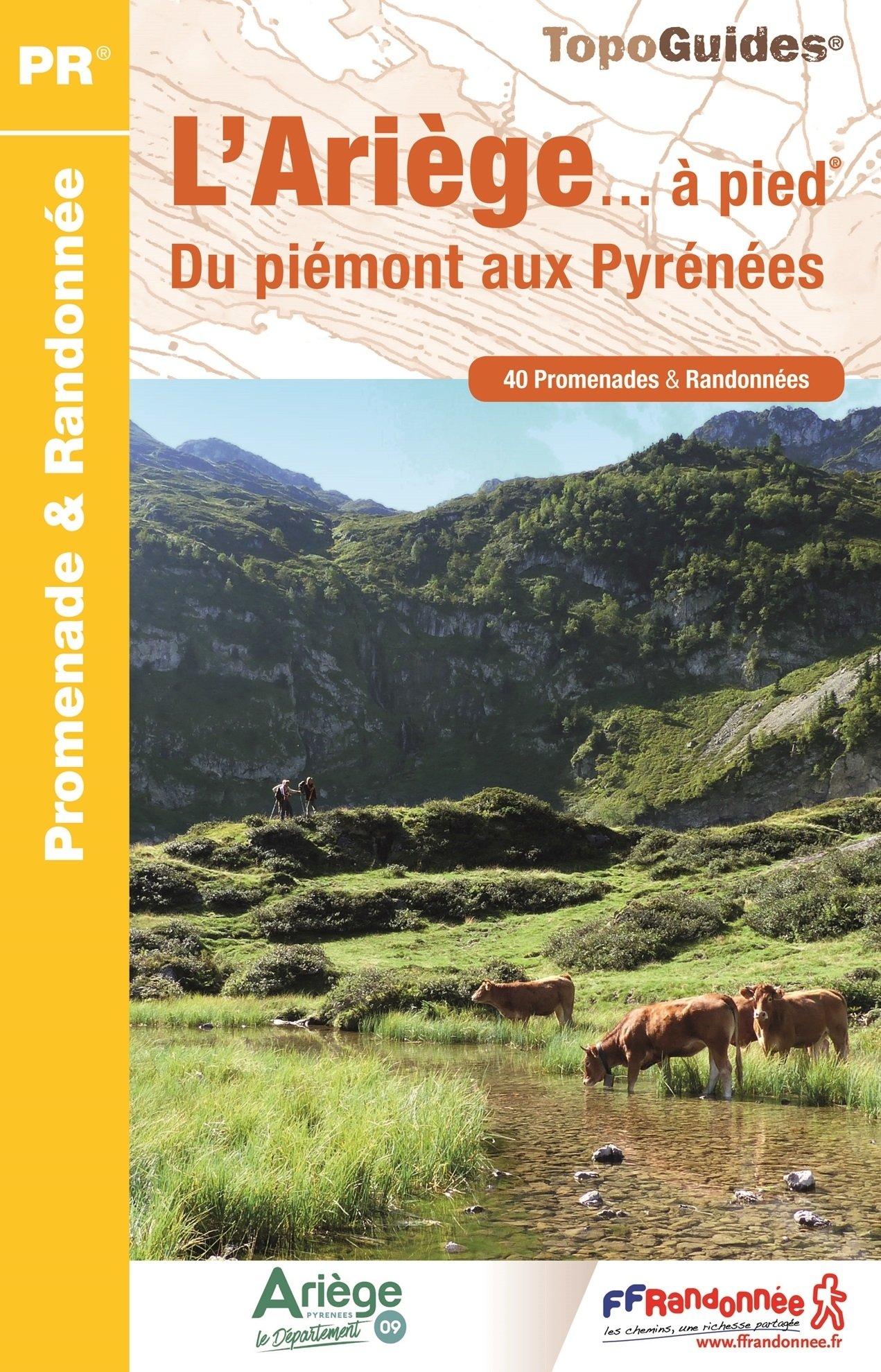D009   Ariège... à pied 9782751409127  FFRP Topoguides  Wandelgidsen Franse Pyreneeën, Toulouse, Gers, Garonne