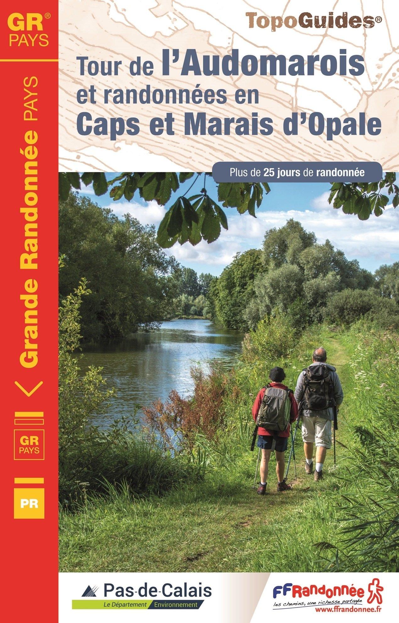 TG6200 Tour de l'Audomarois et randonnées en Caps et Marais d'Opale 9782751409424  FFRP Topoguides  Meerdaagse wandelroutes, Wandelgidsen Picardie, Nord, Aisne, Pas-de-Calais