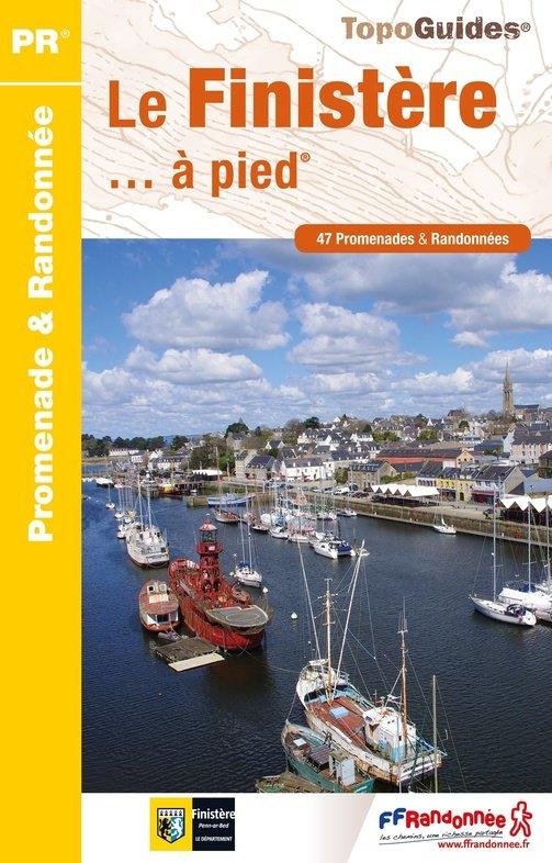 D029  Finistère à pied | wandelgids 9782751409622  FFRP Topoguides  Wandelgidsen Bretagne