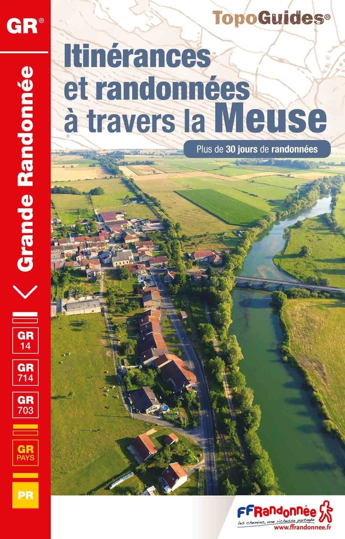 TG5500 Itinérances et randonnées à travers la Meuse | wandelgids 9782751410161  FFRP Topoguides  Wandelgidsen, Meerdaagse wandelroutes Champagne, Franse Ardennen