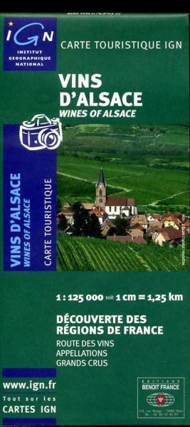 Vins d'Alsace 9782758501824  IGN   Culinaire reisgidsen, Wijnreisgidsen Vogezen