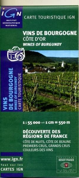 Vins de Bourgogne 9782758501831  IGN   Culinaire reisgidsen, Wijnreisgidsen Bourgogne, Morvan, Côte-d'Or
