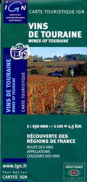 Vins de Touraine 9782758501862  IGN   Culinaire reisgidsen, Wijnreisgidsen Poitou, Tours, Orléans, Bourges