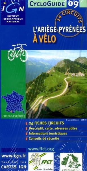 L Ariege-Pyrénées à vélo 9782758507864  IGN Cycloguides  Fietsgidsen Franse Pyreneeën