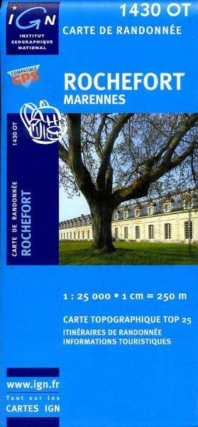 1430OT   Rochefort, Marennes | wandelkaart 1:25.000 9782758510031  IGN TOP 25  Wandelkaarten Loire Atlantique, Charente, Vendée