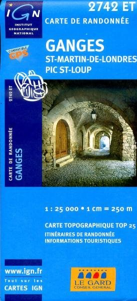 2742ET   St-Martin-de-Londres | wandelkaart 1:25.000 9782758510284  IGN TOP 25  Wandelkaarten Languedoc, Hérault, Aude