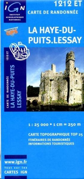 1212ET Lessay, La Haye-du-Puits | wandelkaart 1:25.000 9782758513018  IGN TOP 25 (1:25.000)  Wandelkaarten Normandië