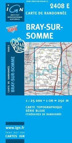 2408 Est   Bay-Sur-Somme (2408E) 9782758513421  IGN Serie Bleue 1:25.000  Wandelkaarten Parijs, Île-de-France