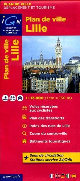 Lille (Rijsel) 9782758520719  IGN   Stadsplattegronden Picardie, Nord, Aisne, Pas-de-Calais