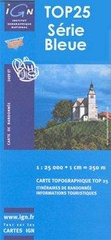 4347OT  Luri, Rogliano, Cap Corse | wandelkaart 1:25.000 9782758528241  IGN TOP 25  Wandelkaarten Corsica