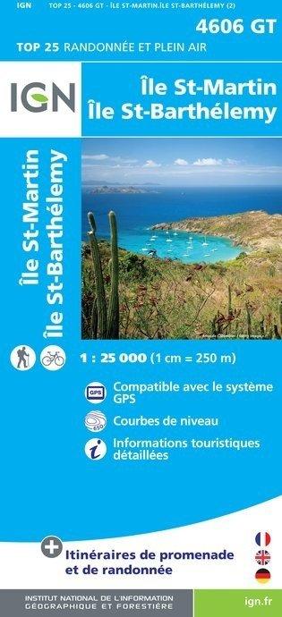 4606GT  St-Martin, Sint-Maarten | wandelkaart 1:25.000 9782758533467  IGN TOP 25  Landkaarten en wegenkaarten, Wandelkaarten Aruba, Bonaire, Curaçao
