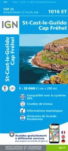 1016ET St-Cast-le-Guildo, Cap Fréhel | wandelkaart 1:25.000 9782758534952  IGN TOP 25  Wandelkaarten Bretagne