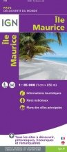 Île Maurice 1:85.000 | kaart van Mauritius 9782758540199  IGN   Landkaarten en wegenkaarten Seychellen, Reunion, Comoren, Mauritius