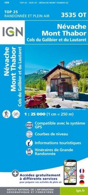 3535OT   Névache, Mont Thabor | wandelkaart 1:25.000 9782758545668  IGN TOP 25  Wandelkaarten Écrins, Queyras