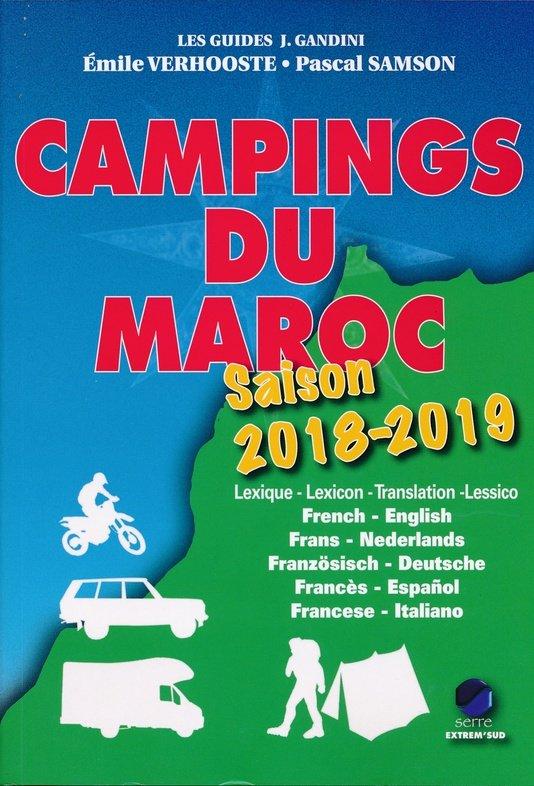 Campings du Maroc (campinggids Marokko) 9782864106333  Gandini   Campinggidsen Marokko