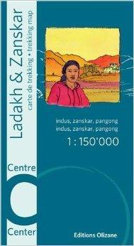 Ladakh & Zanskar Central 1:150.000 9782880864132  Olizane   Landkaarten en wegenkaarten Indiase Himalaya