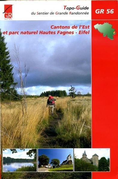 GR-56  Cantons de l'Est (GR56 Oostkantons) | wandelgids 9782930488172  Grote Routepaden Topoguides  Meerdaagse wandelroutes, Wandelgidsen Eifel, Wallonië (Ardennen)