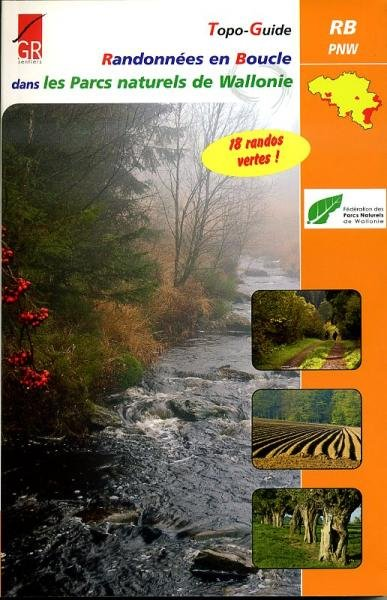 Randonnées en Boucle dans les Parcs Naturels Wallonie | wandelgids 9782930488189  Grote Routepaden Topoguides  Meerdaagse wandelroutes, Wandelgidsen Wallonië (Ardennen)