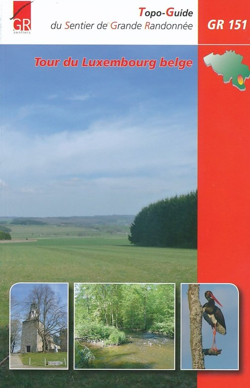 GR-151  Tour du Luxembourg Belge | wandelgids 9782930488318  Grote Routepaden Topoguides  Meerdaagse wandelroutes, Wandelgidsen Wallonië (Ardennen)