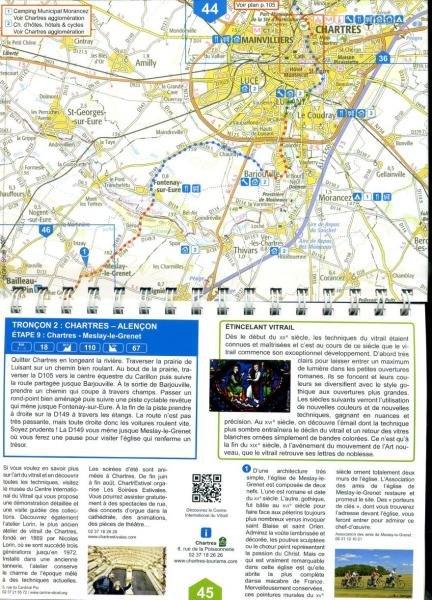 La Véloscénie | fietsroute van Parijs naar Mont-Saint-Michel 9782954199412  Itinérance à Vélo   Fietsgidsen, Meerdaagse fietsvakanties Frankrijk