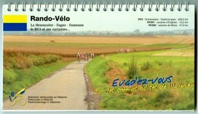Rando Velo RV3 Geraadsbergen-Gedinne 9782960116915  Rando-Vélo   Fietsgidsen Wallonië (Ardennen)