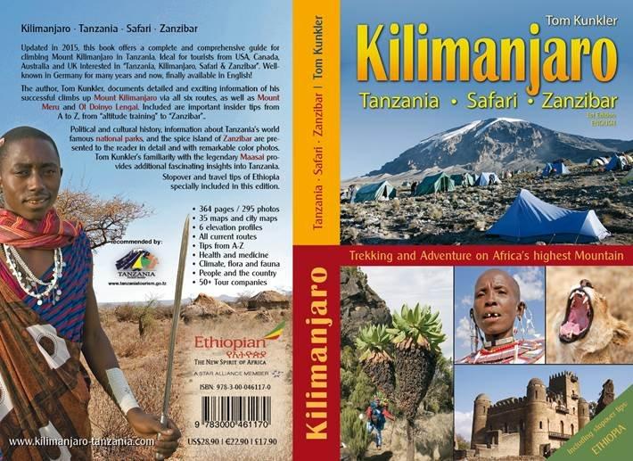 Kilimanjaro 9783000461170 Tom Kunkler Tom Kunkler   Klimmen-bergsport, Meerdaagse wandelroutes, Wandelgidsen Tanzania, Zanzibar