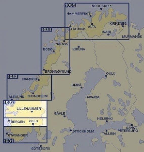 KFN-2  Midden-Noorwegen zuid 1:335.000 9783259010327  Kümmerly & Frey Cappelens Kart  Landkaarten en wegenkaarten Zuid-Noorwegen