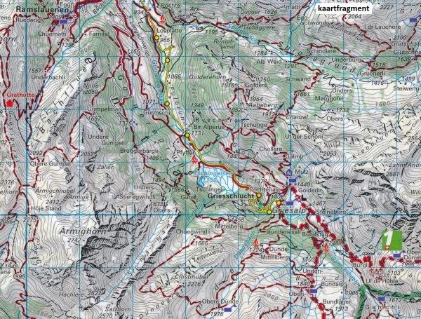 KFW-18  Jungfrau Region-Oberhasli   wandelkaart / overzichtskaart 9783259022184  Kümmerly & Frey Wandelkaarten Zwitserland  Wandelkaarten Berner Oberland, Basel, Jura, Genève