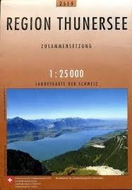 CH-2519  Thunersee [2009] topografische wandelkaart 9783302025193  Bundesamt / Swisstopo LKS 1:25.000 Zusammensetzung  Wandelkaarten Berner Oberland, Basel, Jura, Genève