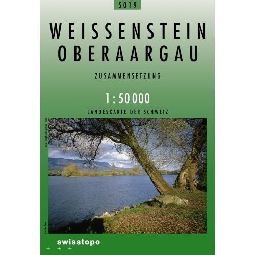 CH5019  Weissenstein - Oberaargau [2009] 9783302050195  Bundesamt / Swisstopo Zusammensetzung 50T  Wandelkaarten Berner Oberland, Basel, Jura, Genève