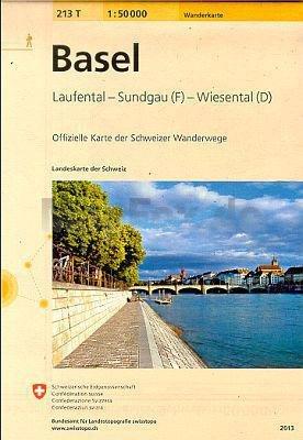 213T  Basel [2009] 9783302302133  Bundesamt / Swisstopo SAW 1:50.000  Wandelkaarten Berner Oberland, Basel, Jura, Genève