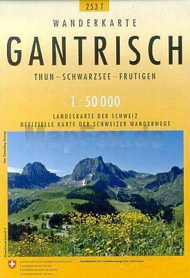 253T Gantrisch [2018] 9783302302539  Bundesamt / Swisstopo SAW 1:50.000  Wandelkaarten Berner Oberland, Basel, Jura, Genève