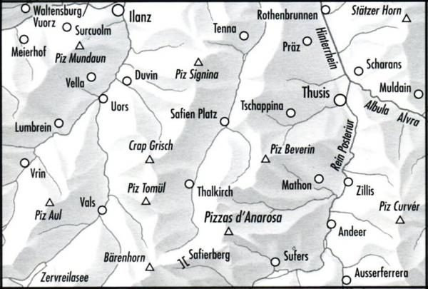 257T  Safiental [2011] 9783302302577  Bundesamt / Swisstopo SAW 1:50.000  Wandelkaarten Graubünden, Tessin