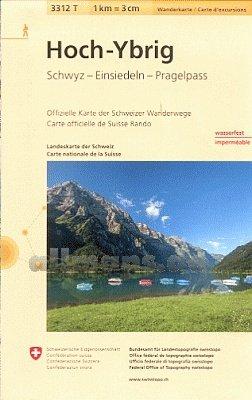 3312T Hoch-Ybrig 9783302333120  Bundesamt / Swisstopo Wanderkarten 1:33.333  Wandelkaarten Noordoost- en Centraal Zwitserland