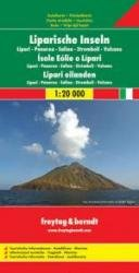 Liparische Inseln 1:20.000 9783707903126  Freytag & Berndt   Wandelkaarten Sicilië