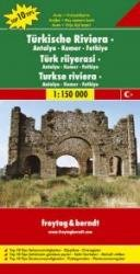 Turkse Riviera: Kemer   autokaart, wegenkaart 1:150.000 9783707903300  Freytag & Berndt   Landkaarten en wegenkaarten Turkse Riviera, overig Turkije